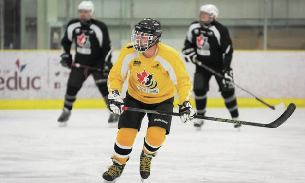 The eye is no limit at the 2018 Canadian National Blind Hockey Tournament