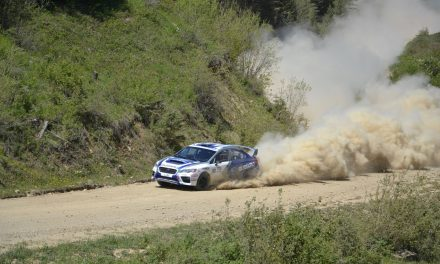 Rally race this weekend
