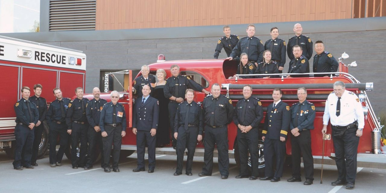 Invermere Fire Chief Roger Ekman retires after 40 years of service