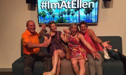 Fairmont family lucks out with Ellen