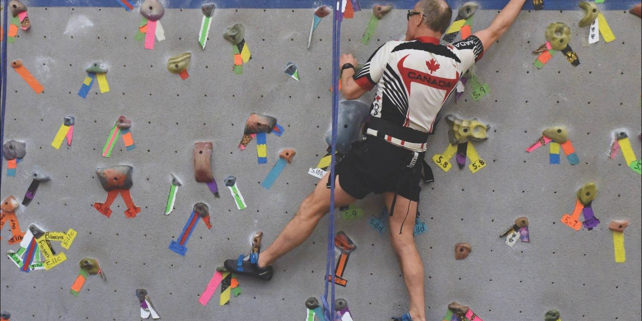 Climb on: Rock climbing at JA Laird gym