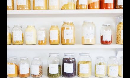 Filling your empty bottles and jars