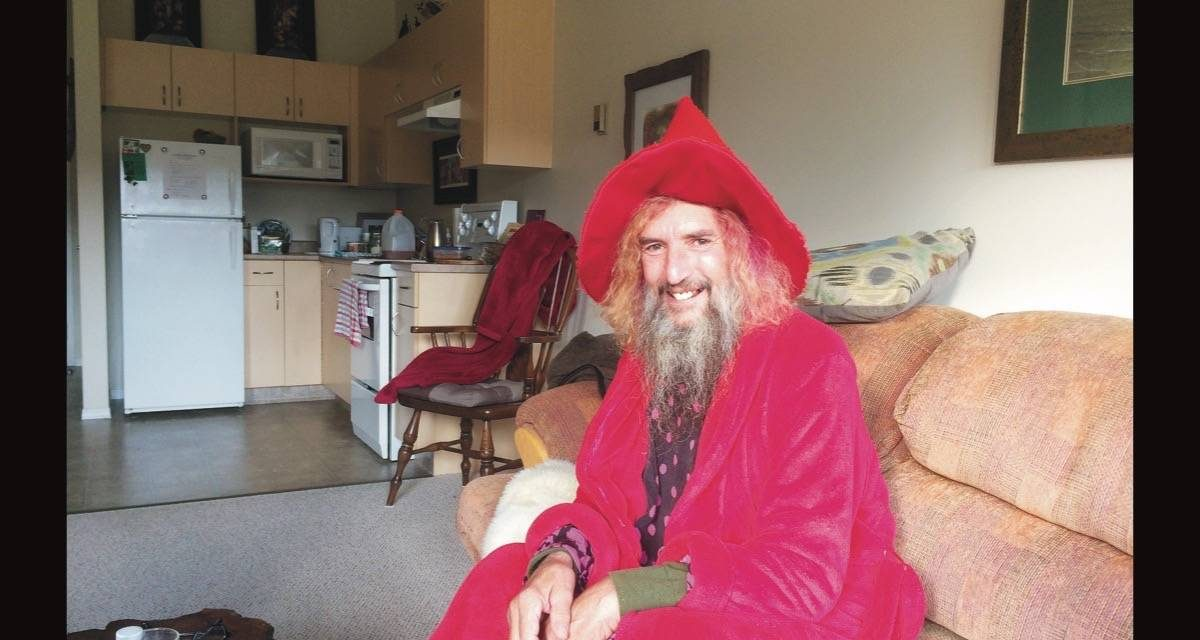 Radium's wizard settles into new lair with cancer in remission