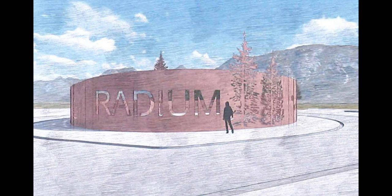 Radium council discusses pools, churches and road art