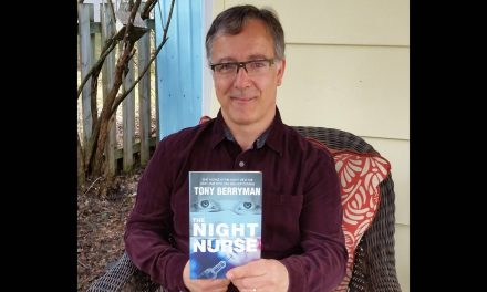 The Night Nurse: Local author chooses to launch massage-therapy thriller during COVID-19 pandemic