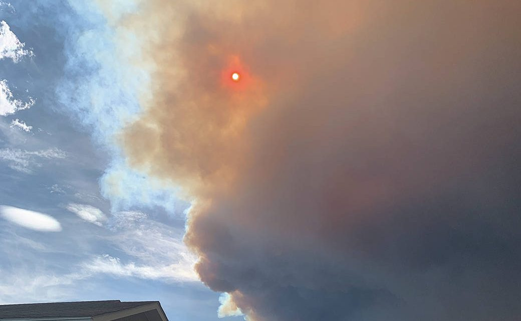 Doctor Creek wildfire rages southwest of Canal Flats