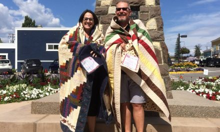 Local veterans get quilts of valour