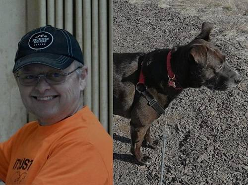 Columbia Valley RCMP ask for help finding a missing man Martin Baker and his dog