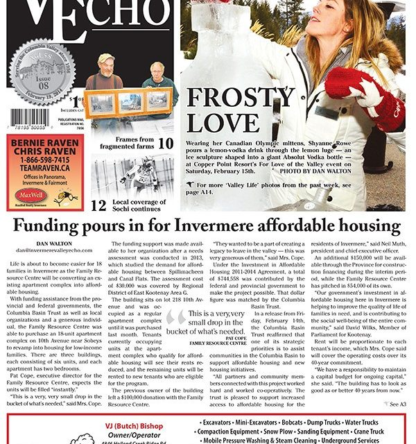 Invermere Valley Echo launches new design