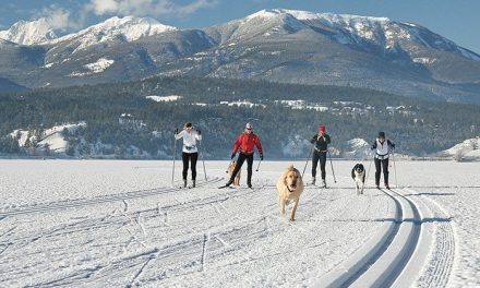 Valley boasts longest ice skating trail