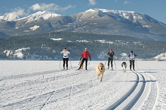 Valley boasts longest ice skating trail