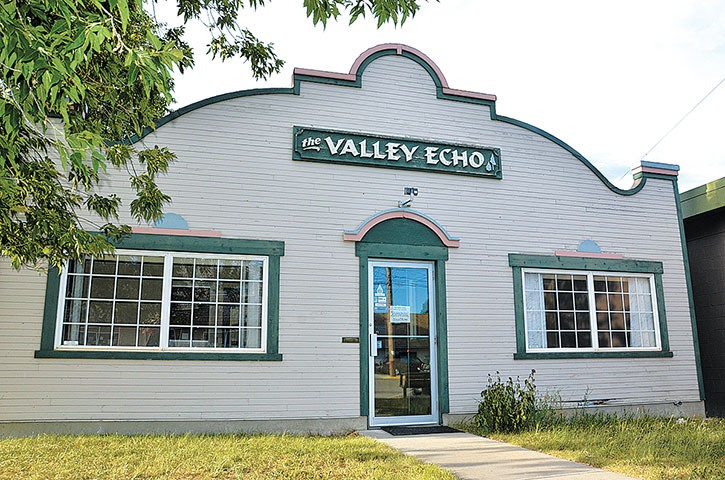 Old Valley Echo sign goes missing
