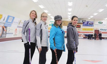 Valley sends girls' curling team to B.C. Winter Games for the first time