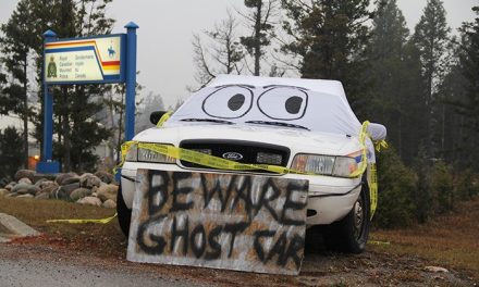 Local RCMP go undercover for Halloween.