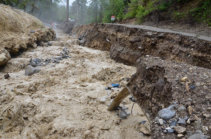 Heavy rainfall restricts access to valley
