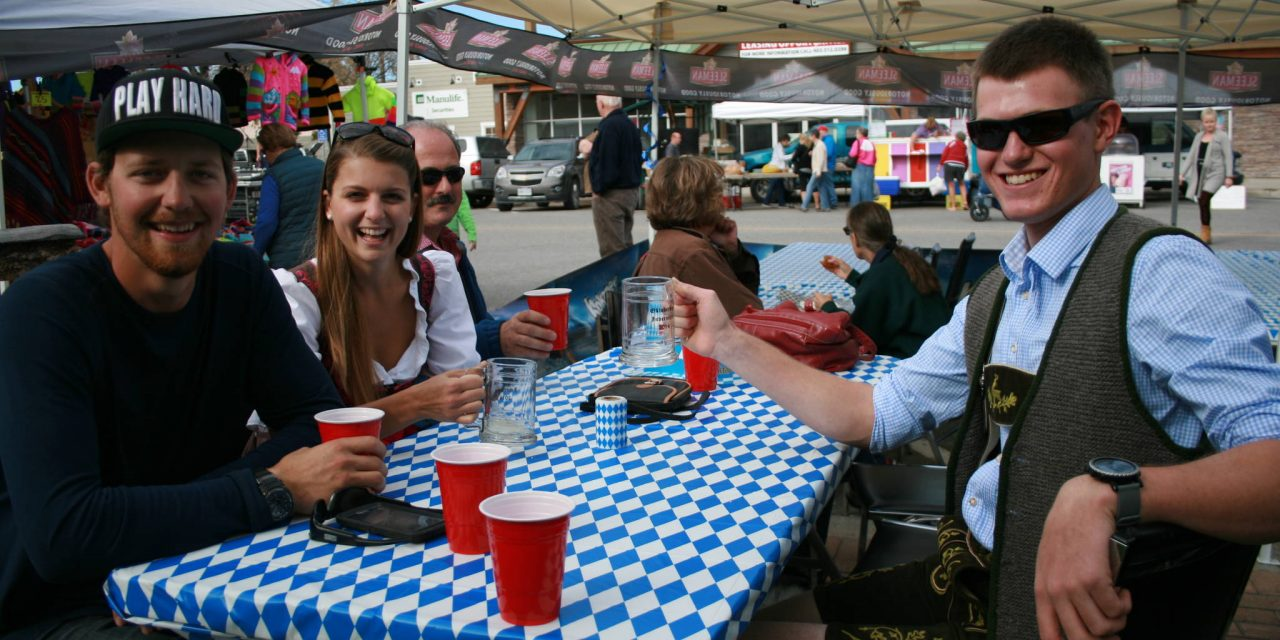 Invermere gets ready to celebrate Oktoberfest