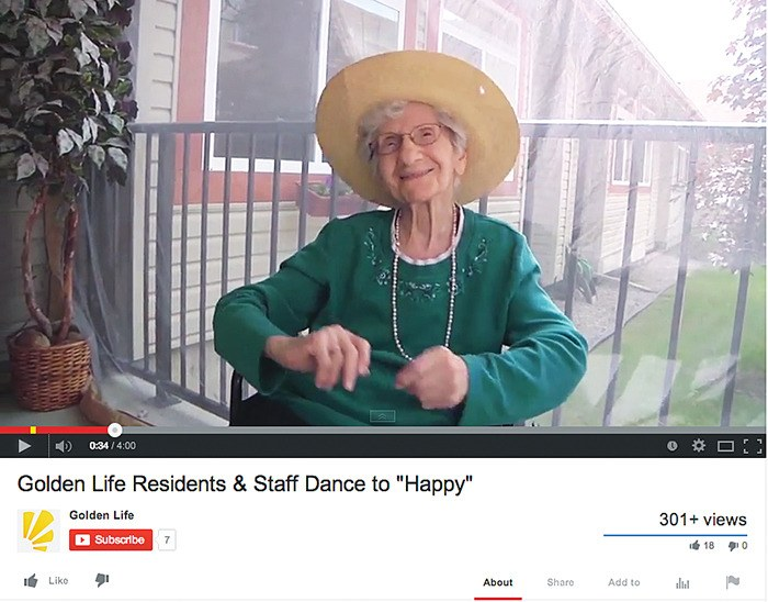'Happy' infects Columbia Garden Village with new music video
