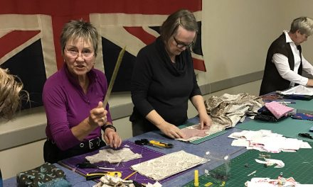 Quilt Guild sews for a good cause