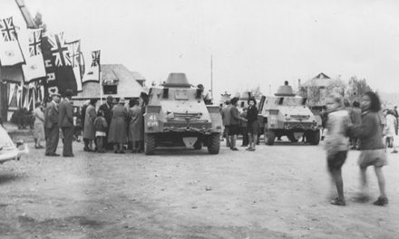 Armoured parade
