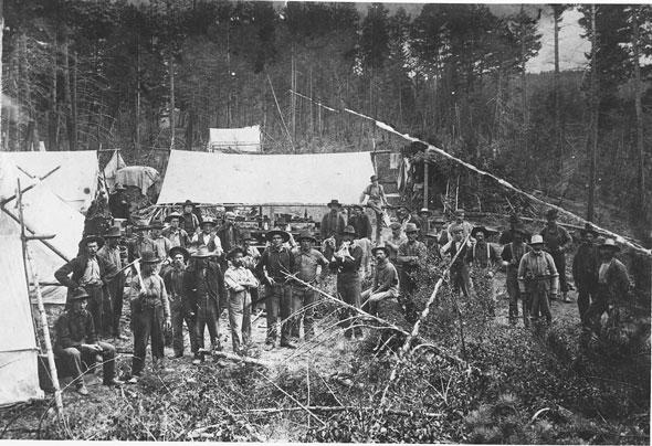 Construction camp