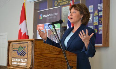 B.C. premier meets with local Chamber