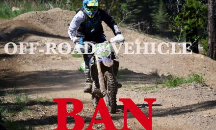 Off-road vehicle restriction in the back country