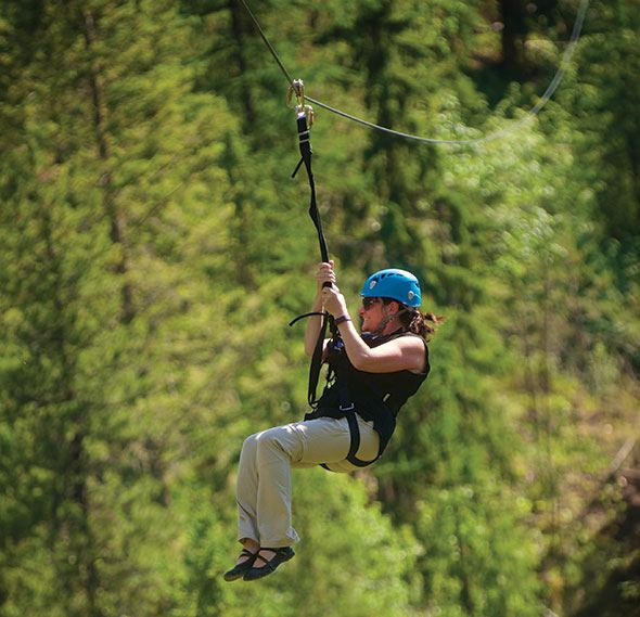 High flying fun