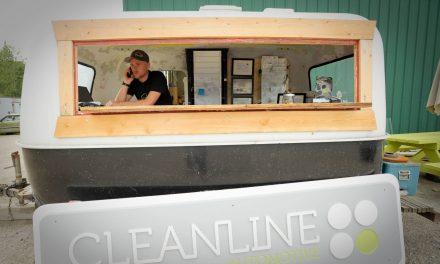 Reduce, Re-use, Re-Boler: Cleanlines unique office