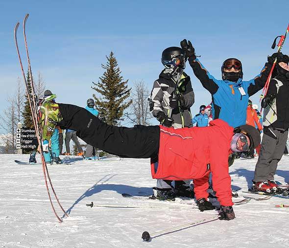 Ski tip tricks