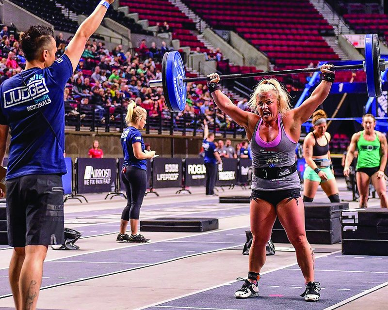 Undershute unsatisfied with top 10 finish at CrossFit Games in California