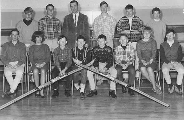 Sixties skiers
