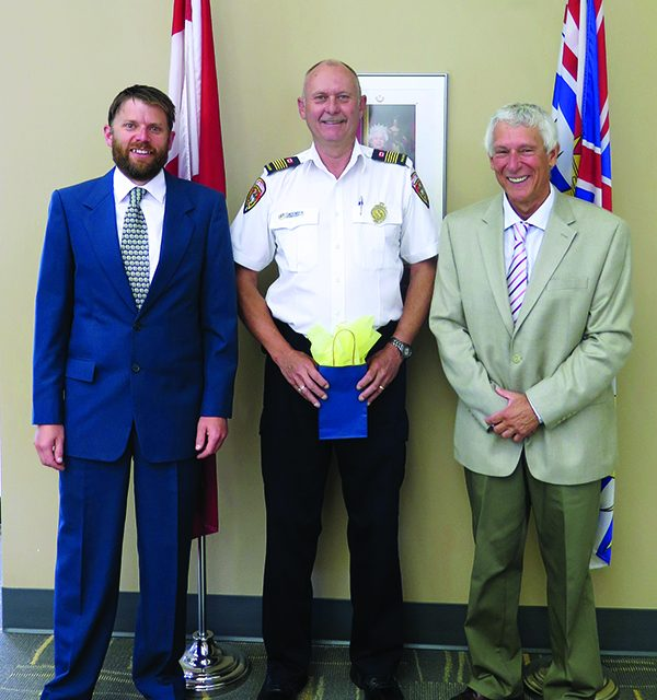 Fire Chief awarded for decade of Service