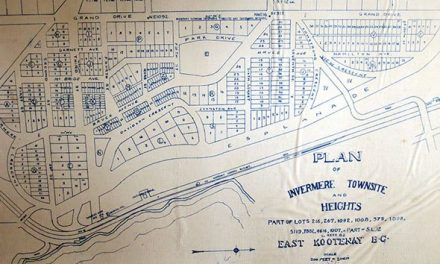 Century-old map of Invermere resurfaces