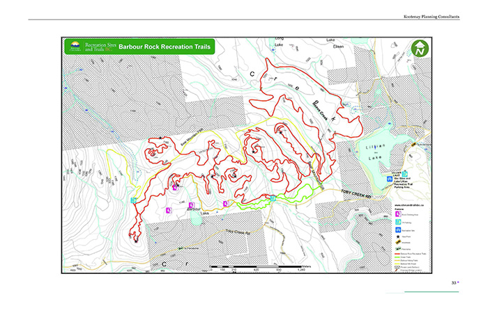 Barbour Rock trails generate discussion