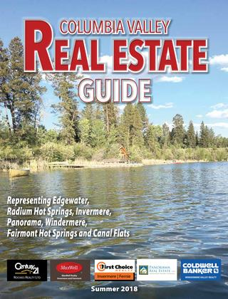 Columbia Valley Real Estate Guide – Summer 2018