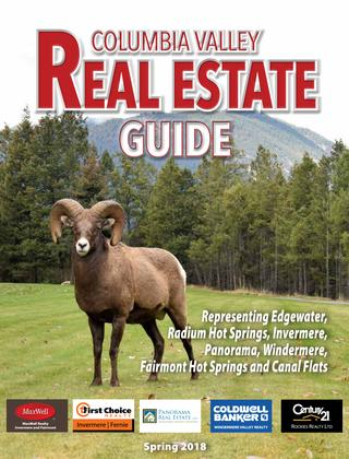 Columbia Valley Real Estate – Spring 2018