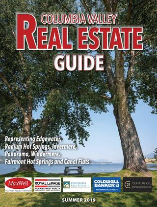 Columbia Valley Real Estate Summer 2019