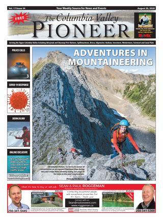 Columbia Valley Pioneer, August 20, 2020