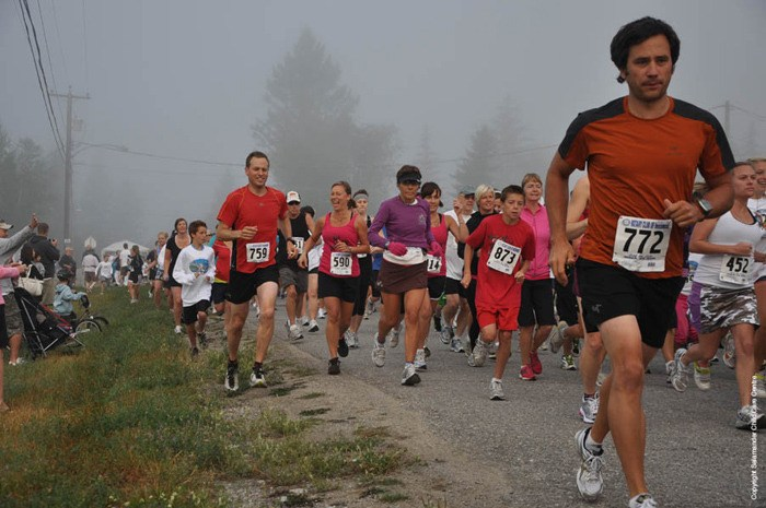 Loop the Lake offers runners a fun, scenic challenge