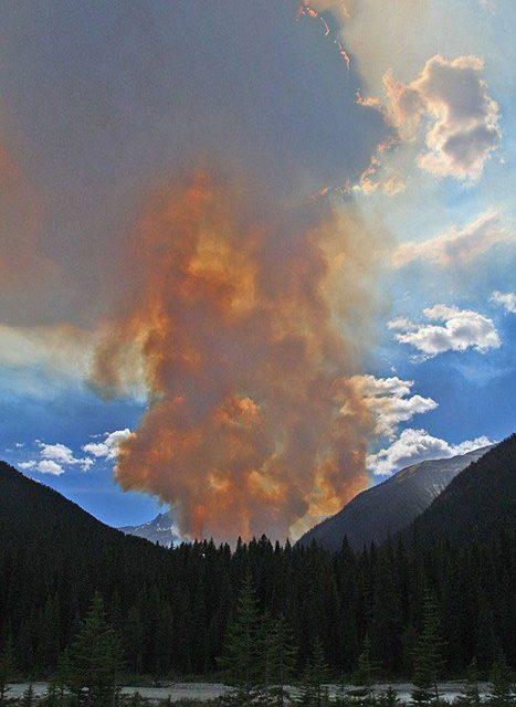 Numa fire continues to burn