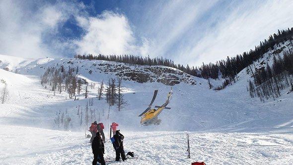 Scenario sheds light on avalanche rescue