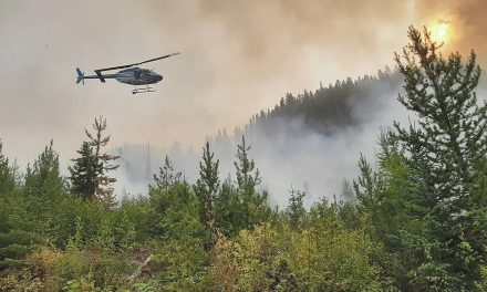 Provincial incident team leaves Doctor Creek wildfire