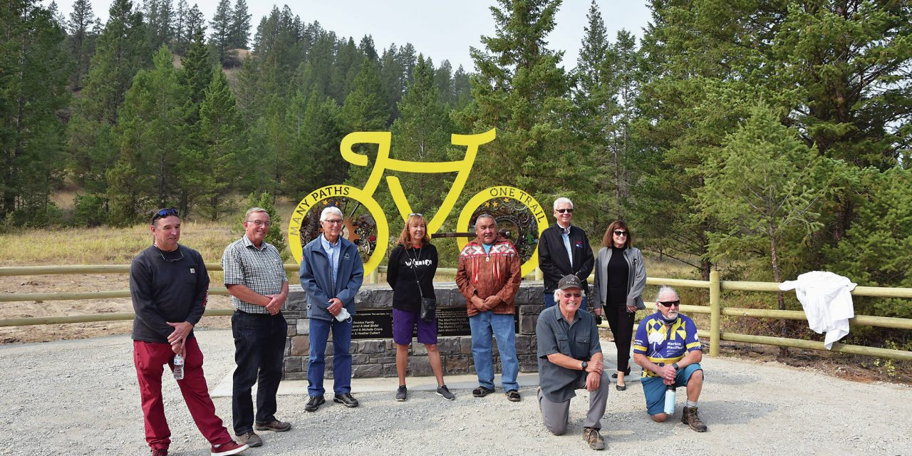 Markin-MacPhail Westside Legacy Trail has a grand opening with a surprise announcement