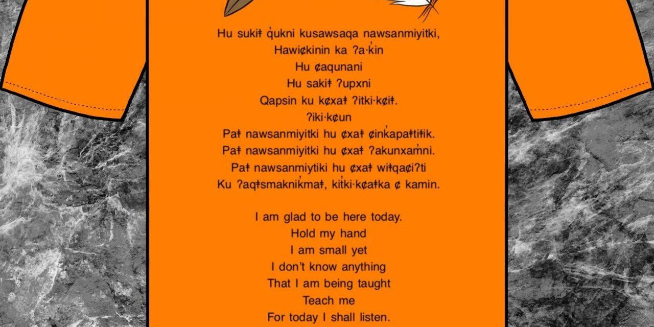 Ktunaxa commemorate residential school survivors with Orange Shirt Day