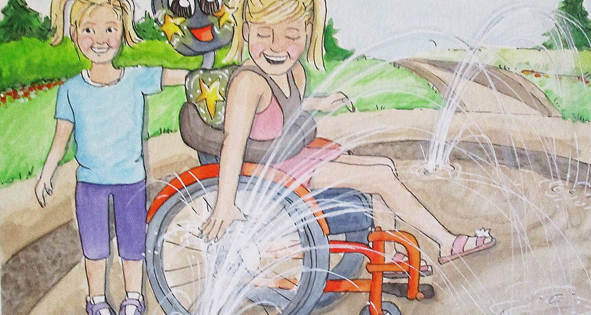'Magic Wheelchair' book tells story of thrilled author's B.C. granddaughters