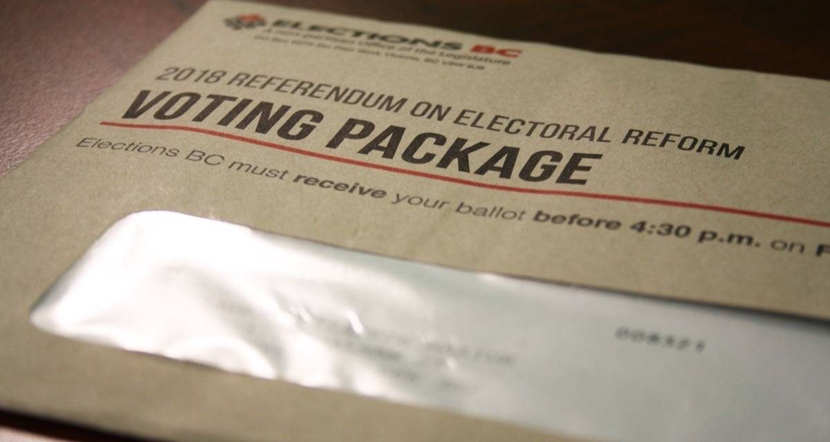 More than 400,000 mail-in ballots requested in the first week of B.C. election campaign