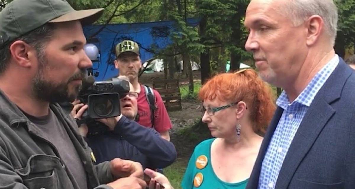 B.C. VOTES 2020: Few solutions offered for 'out of control' camping