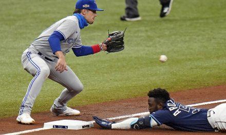 Rays dump Jays 3-1 in MLB wild-card playoff series opener