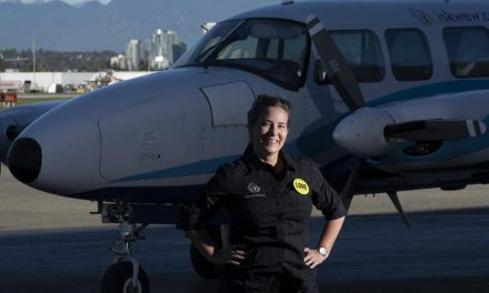 Metis pilot Teara Fraser profiled in new DC Comics graphic novel of women heroes
