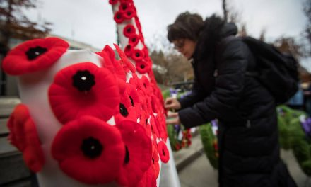 Royal Canadian Legion adjusts to pandemic with electronic poppy sale pilot